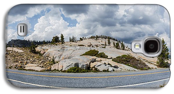 California Tourist Spots Galaxy S4 Cases - Yosemite Mountain Highway Galaxy S4 Case by Jerome Obille