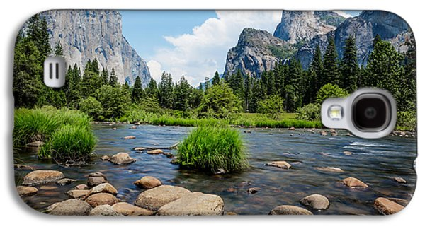 California Tourist Spots Galaxy S4 Cases - Yosemite National Park River View Galaxy S4 Case by Jerome Obille