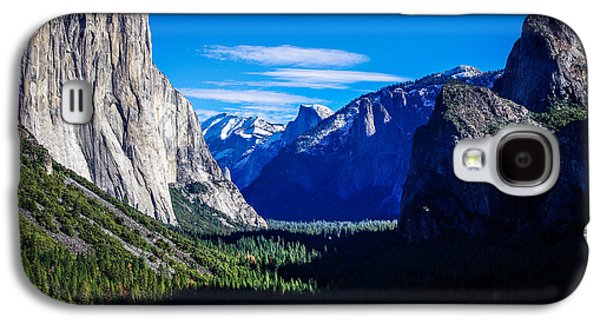 Cathedral Rock Galaxy S4 Cases - Yosemite National Park Tunnel View Galaxy S4 Case by Scott McGuire