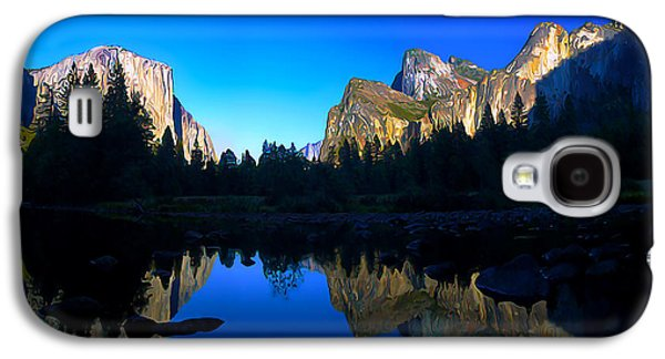 Digitally Manipulated Galaxy S4 Cases - Yosemite Reflections Galaxy S4 Case by Bill Caldwell -        ABeautifulSky Photography