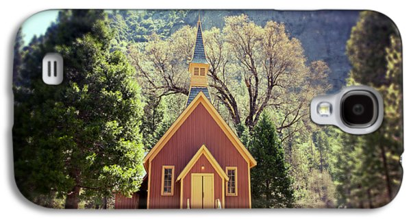 Religious Galaxy S4 Cases - Yosemite Valley Chapel lomo Galaxy S4 Case by Jane Rix