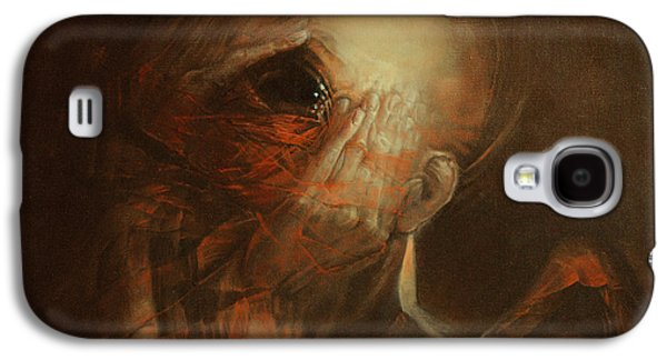 Dream Paintings Galaxy S4 Cases - You are not angel Galaxy S4 Case by Graszka Paulska