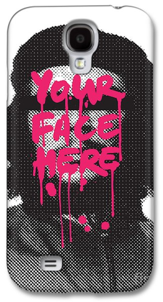 Political Galaxy S4 Cases - You can be hero too Galaxy S4 Case by Budi Satria Kwan