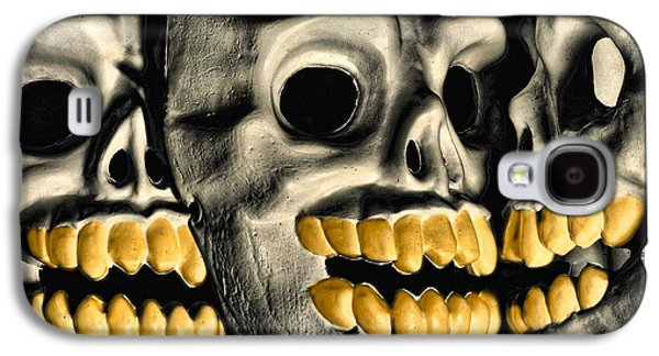Macabre Digital Galaxy S4 Cases - You CAN Take It With You Galaxy S4 Case by Jeff  Gettis