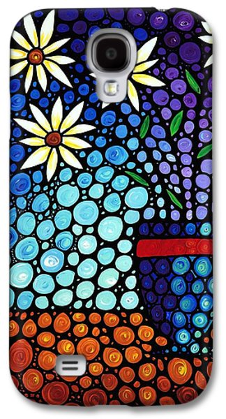 Flower Still Life Prints Galaxy S4 Cases - You Cant Hide Beautiful Galaxy S4 Case by Sharon Cummings