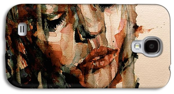 Sadness Paintings Galaxy S4 Cases - You Ditch It All To Stay Alive A Thousand Kisses Deep Galaxy S4 Case by Paul Lovering