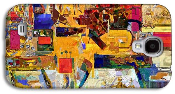 Inner Self Galaxy S4 Cases - You Graciously Endow Man with Wisdom 26b Galaxy S4 Case by David Baruch Wolk