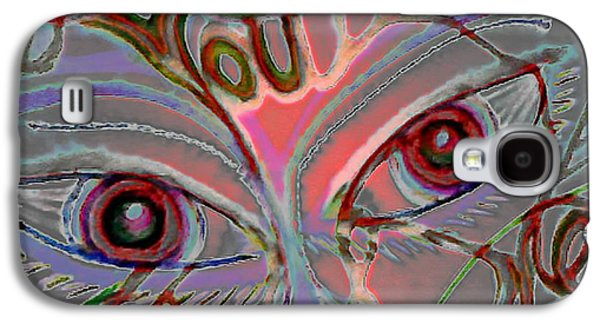Landscape Acrylic Prints Pastels Galaxy S4 Cases - You Hurt Me Galaxy S4 Case by Gina Seymour