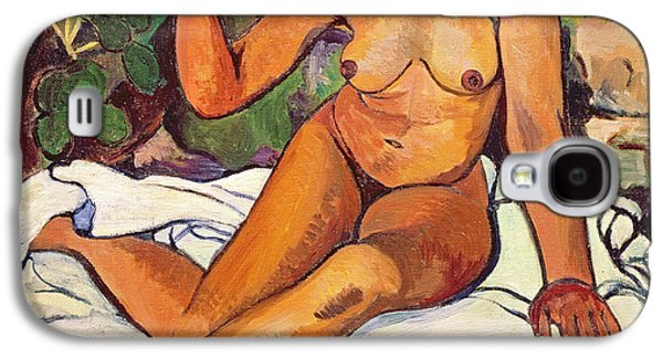 Young Half Caste Woman Galaxy S4 Case by Marie Clementine Valadon