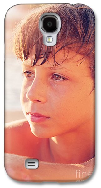 Headshot Galaxy S4 Cases - Young Life Knocks Galaxy S4 Case by Jasna Buncic