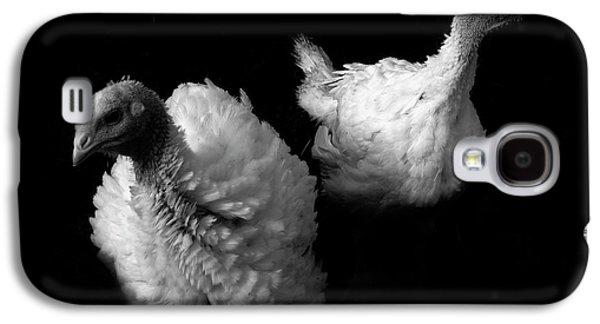 Young Turkeys Galaxy S4 Case by Cordelia Molloy