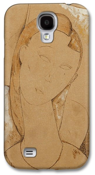 Young Woman  Giovane Donna Galaxy S4 Case by Amedeo Modigliani
