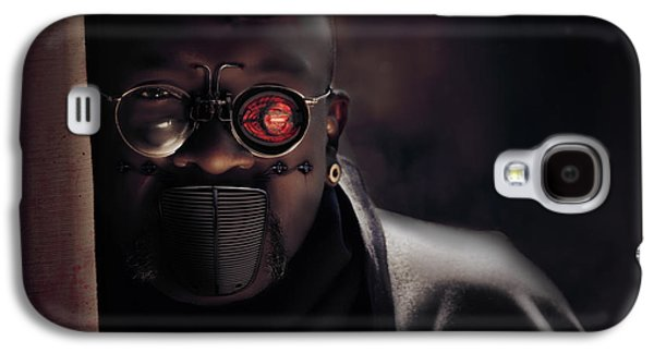 Creepy Digital Galaxy S4 Cases - Your time has come Galaxy S4 Case by Nathan Wright