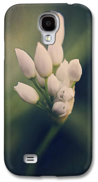 Macro Digital Art Galaxy S4 Cases - Youre Barely Waking Galaxy S4 Case by Laurie Search