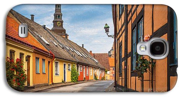 Europa Galaxy S4 Cases - Ystad Street Galaxy S4 Case by Inge Johnsson