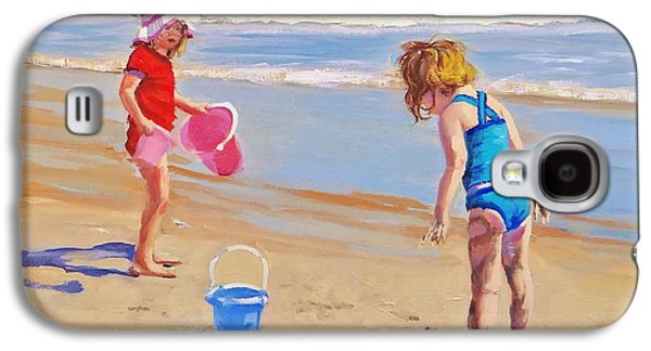 Beaches Galaxy S4 Cases - Yuck Galaxy S4 Case by Laura Lee Zanghetti