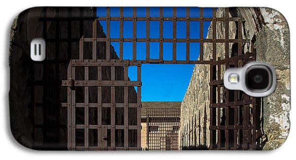 Haybale Galaxy S4 Cases - Yuma Territorial Prison Gate Galaxy S4 Case by Robert Bales