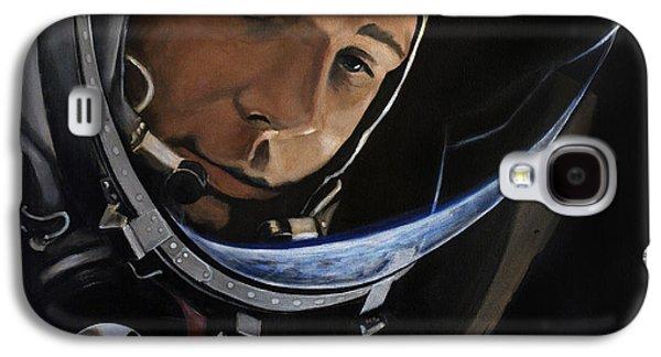 Yuri Alekseyevich Gagarin Galaxy S4 Case by Simon Kregar