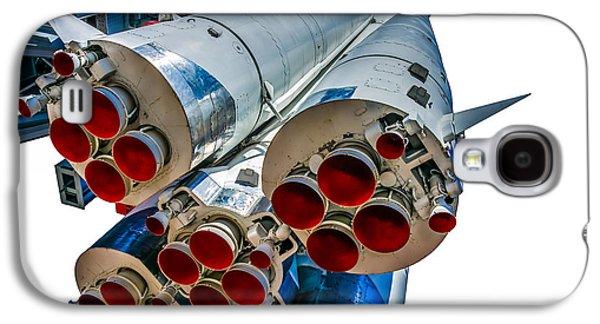 Machinery Galaxy S4 Cases - Yuri Gagarins Spacecraft Vostok-1 - 5 Galaxy S4 Case by Alexander Senin