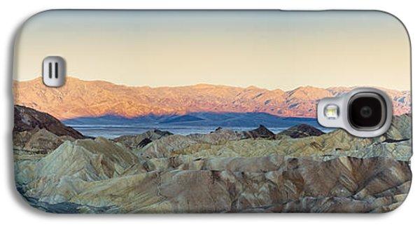 Mountain View Galaxy S4 Cases - Zabriskie Point Panorana Galaxy S4 Case by Jane Rix