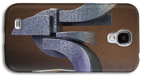 Colorful Abstract Sculptures Galaxy S4 Cases - Zealous Galaxy S4 Case by Richard Arfsten