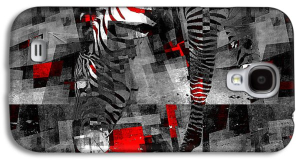 Zebra Art - 56a Galaxy S4 Case by Variance Collections