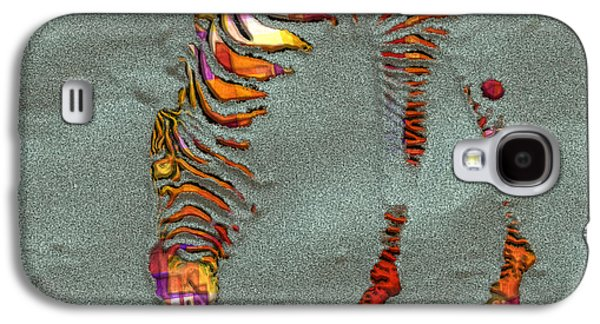 Variants Galaxy S4 Cases - Zebra Art - 64spc Galaxy S4 Case by Variance Collections