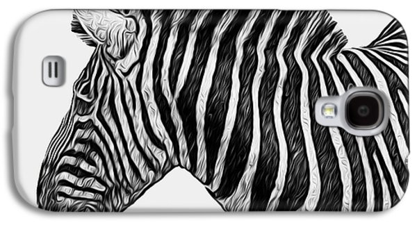 Harem Galaxy S4 Cases - Zebra - Happened At The Zoo Galaxy S4 Case by Jack Zulli