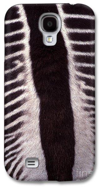 Unique View Galaxy S4 Cases - Zebra Stripes Closeup Galaxy S4 Case by Anna Lisa Yoder