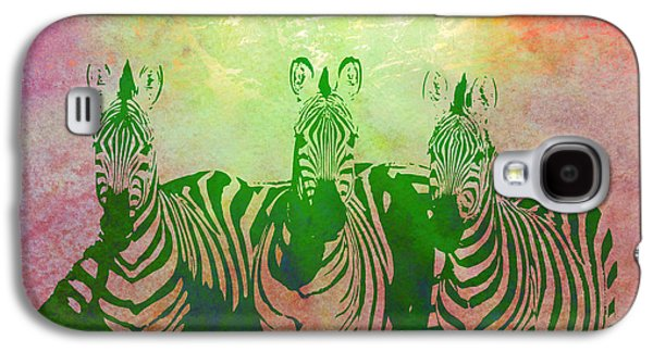 """""""digital Abstract"""" Galaxy S4 Cases - Zebras Galaxy S4 Case by Gary Grayson"""