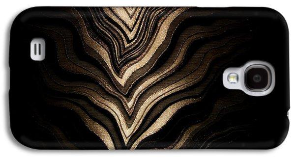Modern Abstract Tapestries - Textiles Galaxy S4 Cases - Zeebz Galaxy S4 Case by Alex Blaha