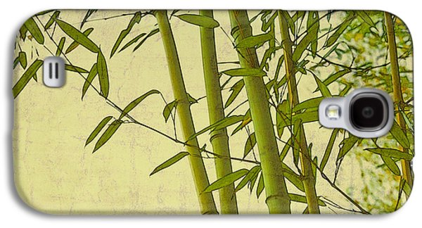 Designs In Nature Galaxy S4 Cases - Zen Bamboo Abstract I Galaxy S4 Case by Marianne Campolongo