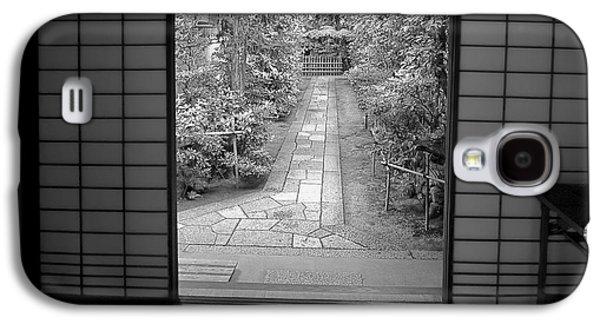 Bamboo House Galaxy S4 Cases - Zen Garden Walkway Galaxy S4 Case by Daniel Hagerman