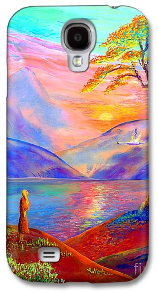Flying Swan, Zen Moment Galaxy S4 Case by Jane Small
