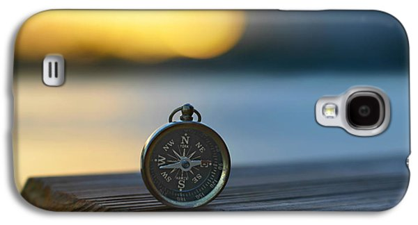 Compass Galaxy S4 Cases - Zen Scape Galaxy S4 Case by Laura  Fasulo