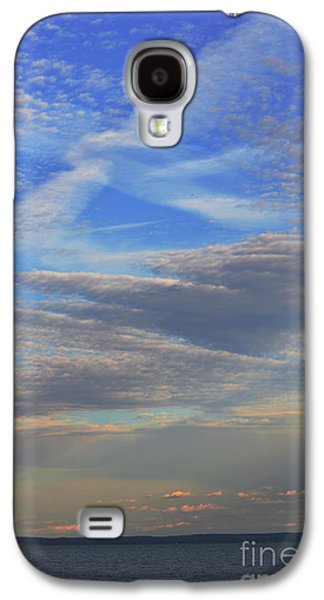 Seacape Galaxy S4 Cases - Zen Skies Abstract Galaxy S4 Case by AdSpice Studios