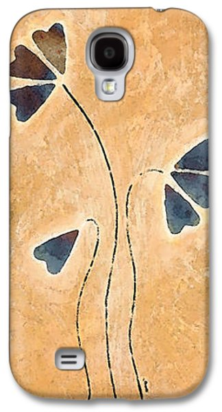 Flies Galaxy S4 Cases - Zen Splendor - Dragonfly Art By Sharon Cummings. Galaxy S4 Case by Sharon Cummings