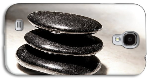 Meditative Photographs Galaxy S4 Cases - Zen Stones Galaxy S4 Case by Olivier Le Queinec