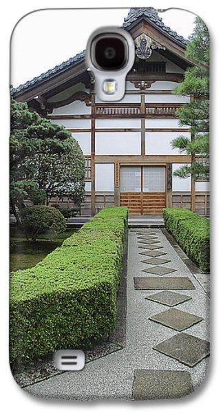 Bamboo House Galaxy S4 Cases - Zen Walkway - Kyoto Japan Galaxy S4 Case by Daniel Hagerman