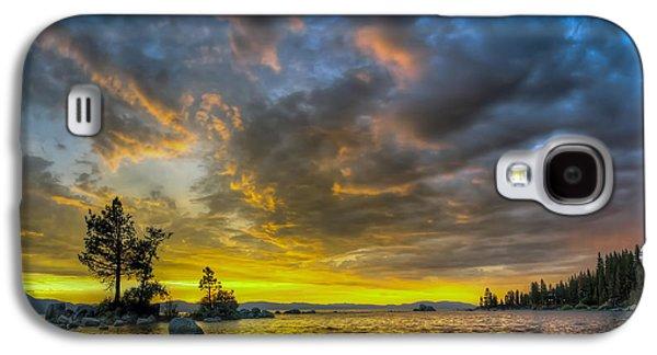 Rain Storm Galaxy S4 Cases - Zephyr Cove Galaxy S4 Case by Sean Foster