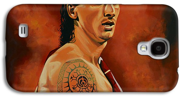 Nike Paintings Galaxy S4 Cases - Zlatan Ibrahimovic Galaxy S4 Case by Paul Meijering