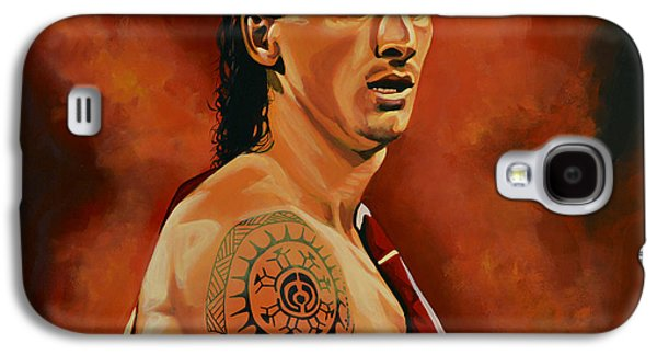 Nike Galaxy S4 Cases - Zlatan Ibrahimovic Galaxy S4 Case by Paul Meijering