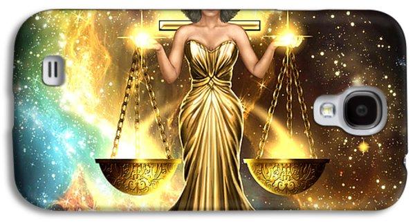 Zodiac Libra Galaxy S4 Case by Ciro Marchetti