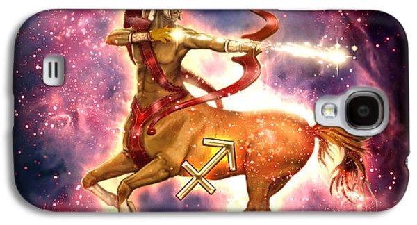 Zodiac Sagittarius Galaxy S4 Case by Ciro Marchetti