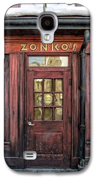 Studio Photographs Galaxy S4 Cases - Zonkos Joke Shop Hogsmeade Galaxy S4 Case by Edward Fielding