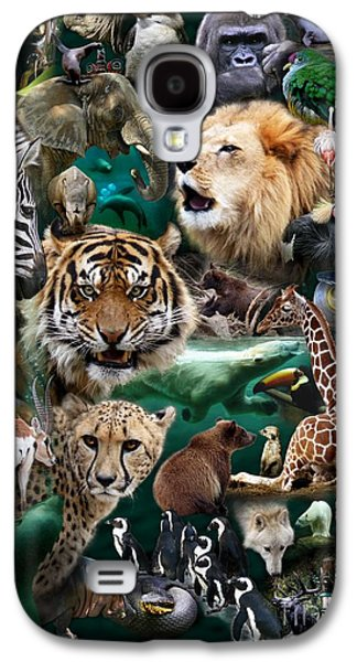 Preditor Galaxy S4 Cases - Zoo Collection Galaxy S4 Case by Dale Crum