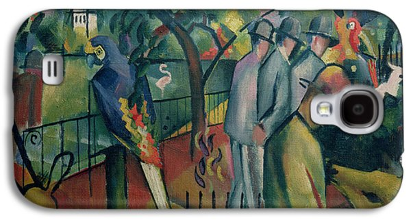 Zoological Garden I, 1912 Oil On Canvas Galaxy S4 Case by August Macke