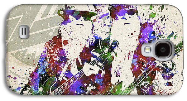 Famous Band Galaxy S4 Cases - ZZ Top Portrait Galaxy S4 Case by Aged Pixel