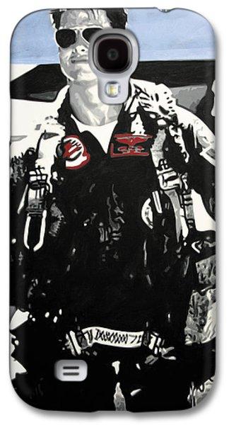 Ludzska Galaxy S4 Cases - - Maverick - Galaxy S4 Case by Luis Ludzska