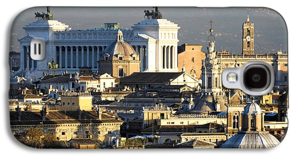 Rome Galaxy S4 Cases -  Romes rooftops Galaxy S4 Case by Fabrizio Troiani